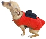 <b>PupWarmer™ Keep your dog warm!</b><br>Dog Sweater with Doggie Bag Backpack and Inside Pouches.